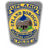 Upland Borough Police Department Badge