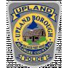 Upland Borough Police Department Badge