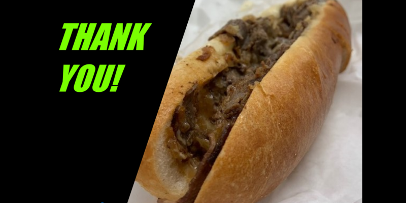 Image for Thank you, Thunderbird Steakhouse!