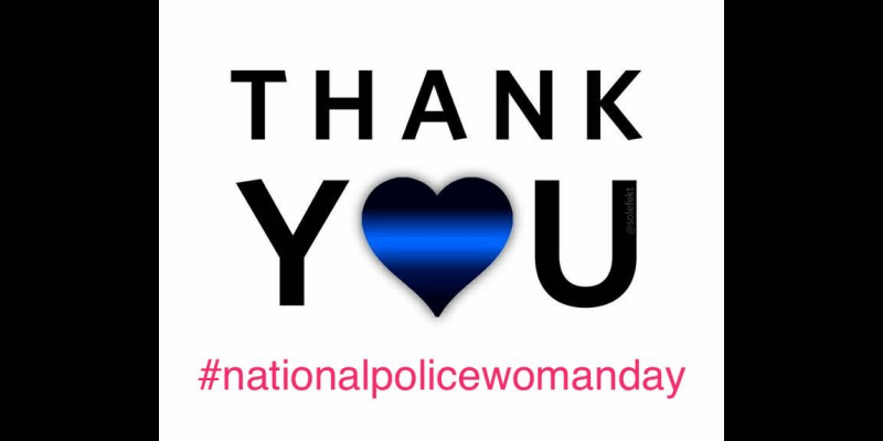 Image for Today is National Policewomen Day!
