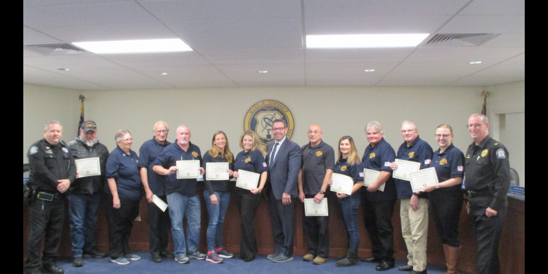 Image for Citizens Police Academy Class Graduates