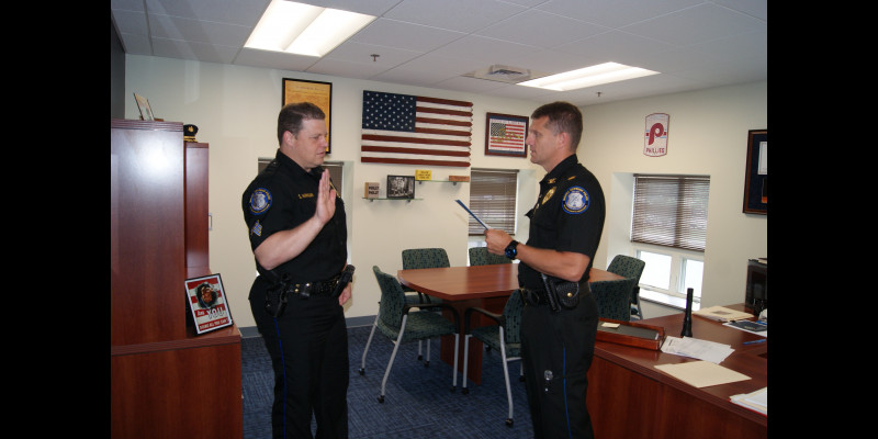 Image for SGT SEAN HANNIGAN PROMOTED TO LIEUTENANT