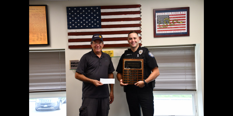 Image for BROOMALL ROTARY RECOGNIZES 2019 OFFICER OF THE YEAR